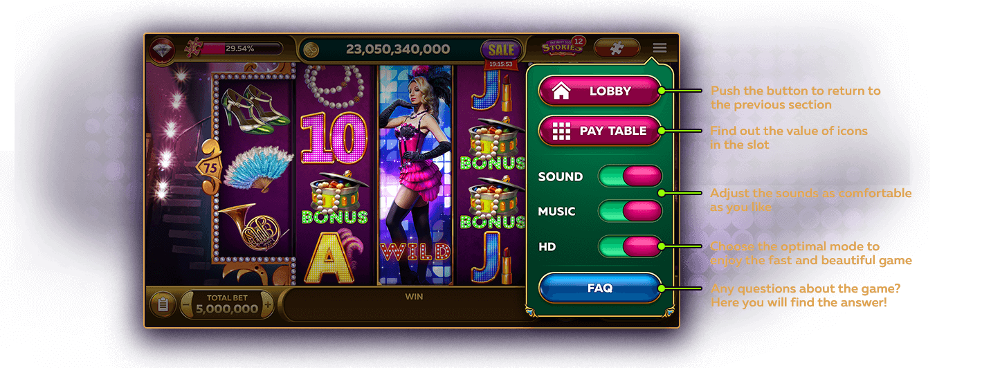 Customize Free Online Slots Game