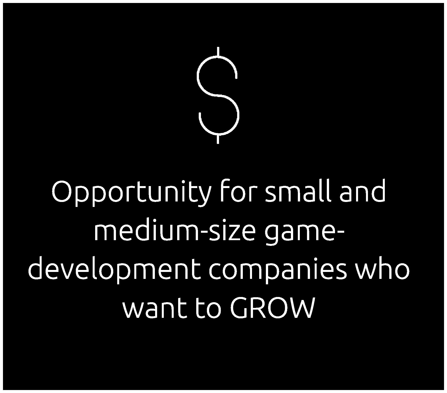 Opportunity for Game-Development Companies Dark